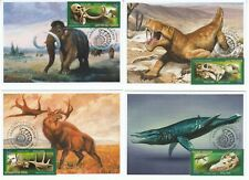 maxi card  Prehistoric Fauna Dinosaurs Mammoths Paleontological Heritage of Ru 2