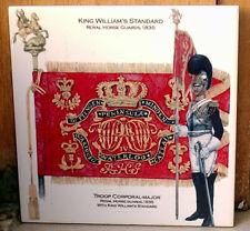 King William's Standard Royal Horse Guards 1835  FLAG CERAMIC TILE