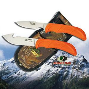 NEW Outdoor Edge Wild-Pair Gut-Hook Skinner & Caping Knife w/ Nylon Sheath WR-1C