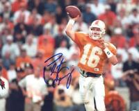 REPRINT - PEYTON MANNING Tennessee Volunteers Signed Autographed 8 x 10 Photo RP