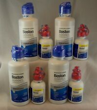 Bausch + Lomb Boston ADVANCE Conditioning & Cleaning Solution/ 4 bottles each
