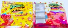 50 bags Strawberry Stone Patch bags Empty cookies Packaging zip lock bags