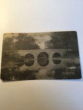 Old Postcard 1900's Princeton New Jersey Stony Brook Bridge