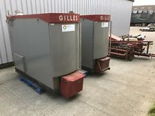 GILLES Biomass Woodchip Boiler System 150kw+85kw + feed augers water heating