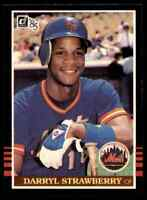 1985 Donruss Darryl Strawberry ** Mets #312 *Noles2148* 10=Free Ship