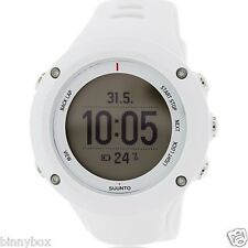 SUUNTO SS020657000 Men's AMBIT2 R WHITE Watch The GPS for Runners