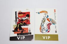 JVC Jazz Festival 2005 2006  - 4 x Backstage Pass - VIP - Free Postage -