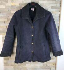 Laura Ashley Size S Petite Fleeced Jacket Coat