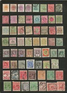 Nice lot-British Colonies -Mh/ Used 1800's-1950's inc BOB.-nice cancels