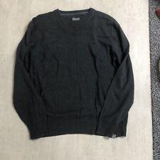 Fat Face Grey Wool Jumper Size L