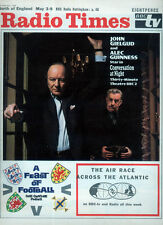 RADIO TIMES 3 MAY 1969 . JOHN GIELGUD & ALEC GUINESS COVER . DOCTOR WHO