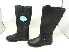 Girls SO (99042) Carrie Black Tall Riding Boots (427A-B)