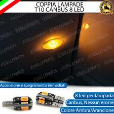 COPPIA LAMPADE FRECCE LED LATERALI JEEP GRAND CHEROKEE III WK T10 CANBUS