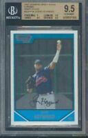 2007 bowman chrome #54 JASON HEYWARD rookie BGS 9.5