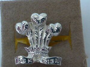 925 sterling silver Prince of Wales Feathers cufflinks MADE IN ENGLAND