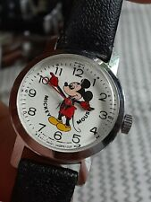 Vintage Bradley Mickey Mouse 0335 Watch Walt Disney Productions Mens Automatic