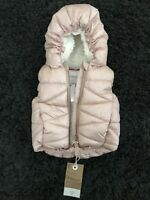 Next Baby Girl Pink Gilet 3-6 Months Brand New