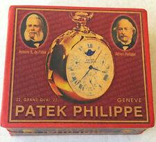 PATEK PHILIPPE ADVERTISING SOUVENIR CARDBOARD BOX FOR POCKET WATCH