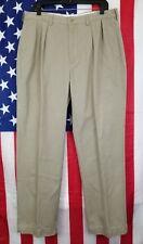 Lot of 2 Polo Ralph Lauren Men's Pants 1 Andrew Chino + 1 Dress Pant 34x32