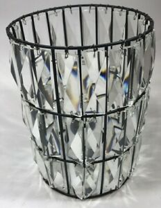 Pottery Barn Adeline Classic Crystal Pendant Shade, Free Shipping