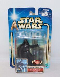 Star Wars Darth Vader ~ Bespin Duel Slashing Lightsaber Empire Strikes Back IOP