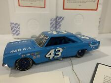#43 Richard Petty 1967 Plymouth GTX Franklin Mint Autographed Petty & Inman
