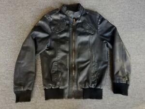 Lederjacke von JACK & JONES***Gr. XL***Farbe schwarz***supercool