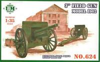3-inch field gun model 1902 << UMmt #624, 1:35 scale