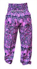 INDIAN BAGGY MEN WOMEN ELEPHANT PRINT GYPSY HAREM PANTS YOGA COTTON TROUSER GIFT