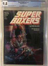 Marvel Graphic Novel #8 Super Boxers CGC 9.8 White Pages (1983) -- Ron Wilson