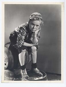 Jackie Cooper 1933 The Bowery Original 7.5x9.5 Portrait