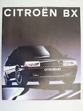 PROSPEKT CITROEN BX Berlina e Break, con GTI, 8.1991, 32 pagine