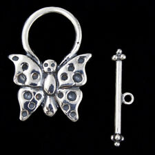 27mm Sterling Silver Butterfly Toggle Clasp #BSN019