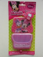 MINNIE MOUSE & DAISY COMPACT MIRROR & COMB SET AGES 3+ NEW