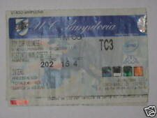 SAMPDORIA - UDINESE BIGLIETTO TICKET 2005/06  C.I.