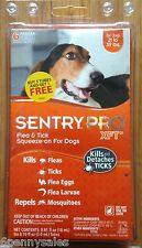 Sentry PRO XFT Dog Flea and Tick Medicine 6 Month Supply 21-39 Pounds lbs Drops