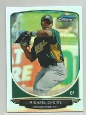 Michael Choice Oakland A's 2013 Bowman Mini Cream of the Crop Refractor