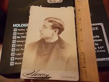 Orig 1890 Sarony Actor Covert D. Bennett NYC Theatre Cabinet Card Photo