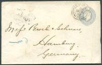 GREAT BRITAIN to Germany Postal Stationery 1902 VF