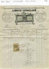 Dépt 61 - Alençon 22 Rue Aux Sieurs - Belle Entête Fourneaux de Cuisine de 1887