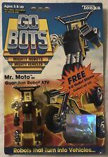 Tonka GoBots Mr. Moto 64 Guardian Robot Atv with 3D Sticker