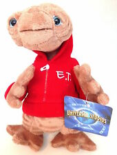 "Universal Studios 9"" E.T. Extra Terrestrial Red Sweatshirt Plush Toy New"