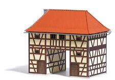 Busch 1650 HO (1/87): Huis met passage, Ickelheim