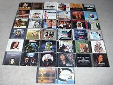LOT OF (38) SOUNDTRACK CDs. GOOD CONDITION.