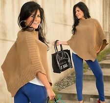 Regular Size Poncho Jumpers & Cardigans for Women