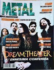 Metal Shock 356/2002 Dream Theater Staind Megadeth Tad Morose Thoten Candlemass