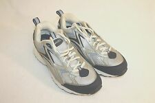 Cross Trekkers Mens Silver Blue Running Training Sneakers Shoes Size 9.5M