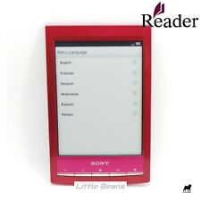 Sony PRS-T1 2GB, eReader eBook Touch Screen 6in - Red