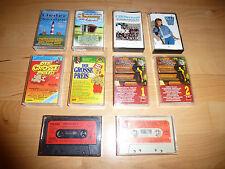 10 Musikkassetten Konvolut Deutsche Volkslieder Schlager Liedermacher 80er/90er
