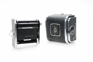 Hasselblad A12 V-Button Roll Film Back Chrome #326